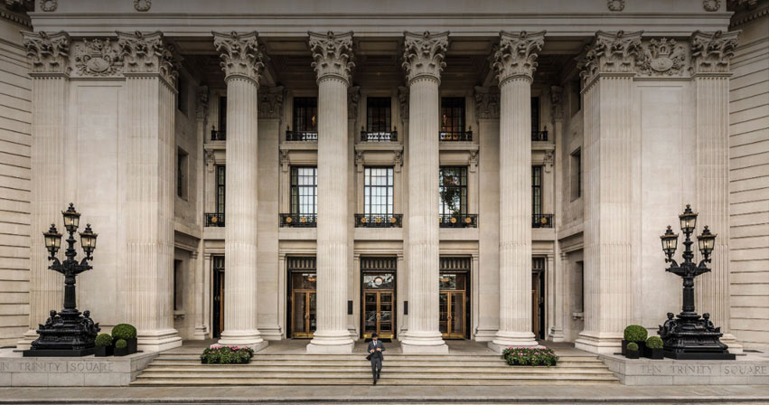 DMA supports the reopening of Four Seasons Hotel, Ten Trinity Square