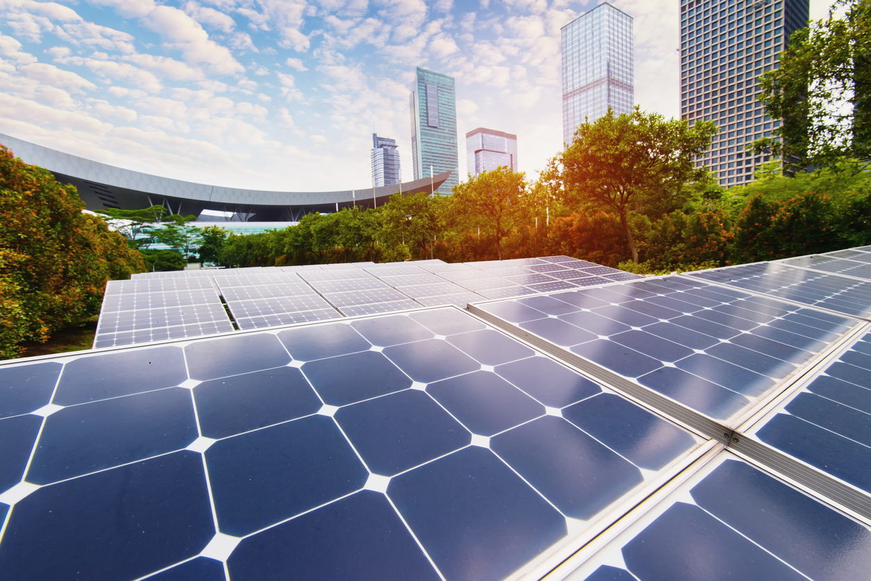 Save energy, cut carbon with solar panels